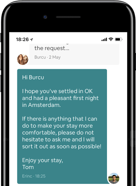 Send an After Check-out Message to your guest
