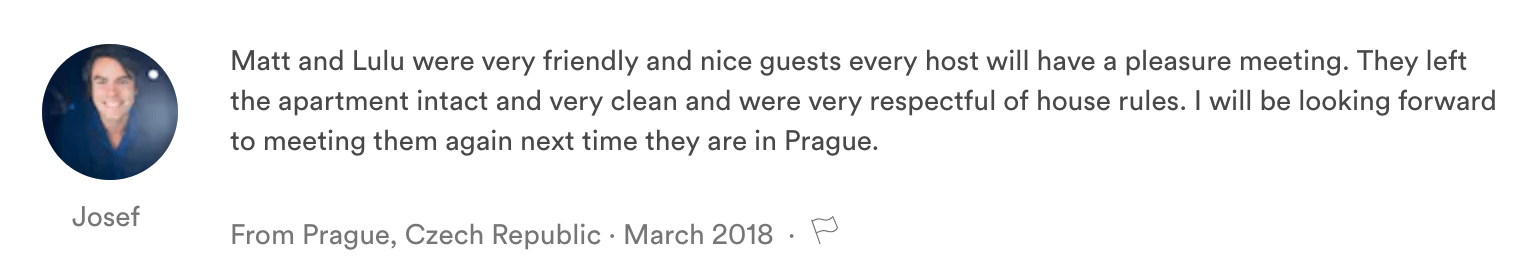 Guest Reviews in Airbnb