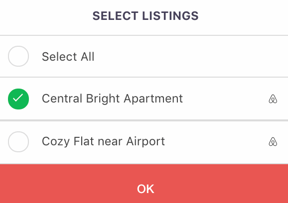 Select Multiple Listings