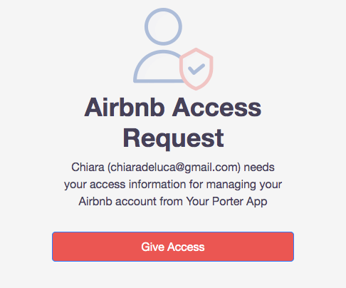 Airbnb Access Request