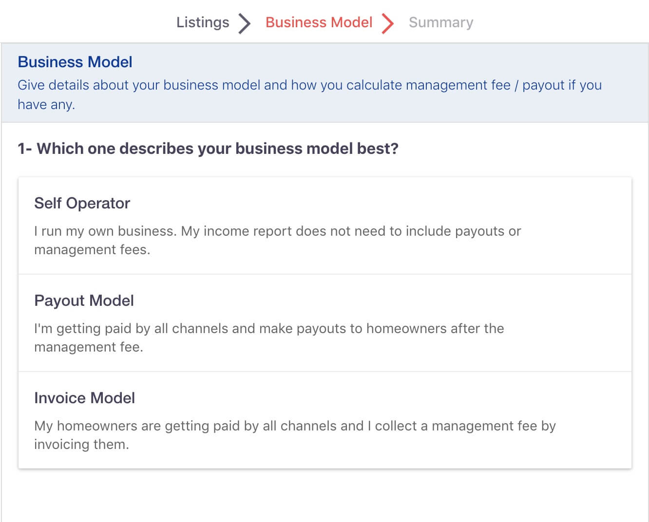 Income Reports Business Models